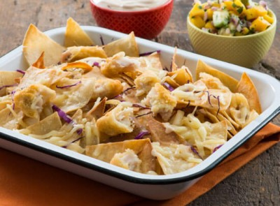 Fish Taco Nacho Platter