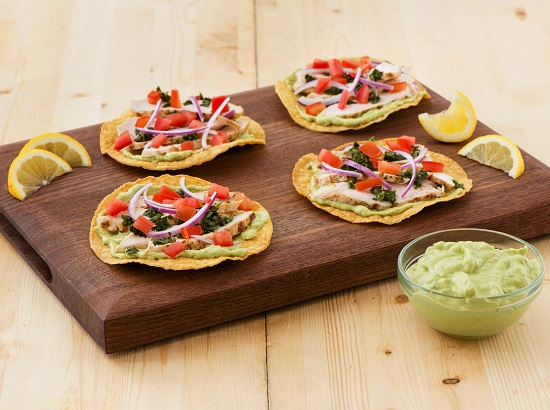 550x410_Grilled Chicken and Chimichurri Tostadas