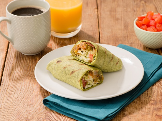 550x410_bacon and tomato breakfast burrito with avocado crema