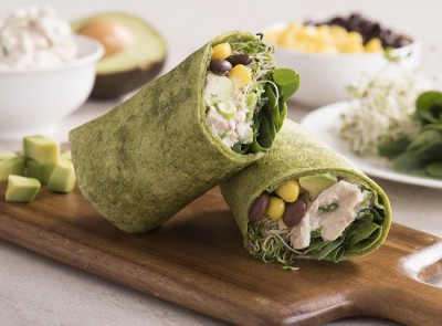 550x410_Avocado and Black Bean Tuna Salad Wrap