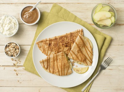 550x410_Caramel Apple Crunch Granola Quesadilla